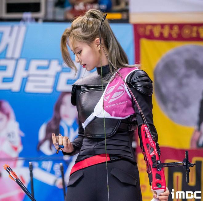 Có một mỹ nhân bỗng thành nữ thần Tết Trung Thu xứ Hàn chỉ nhờ khoảnh khắc bắn tên xuất thần tại đại hội thể thao idol - ảnh 3