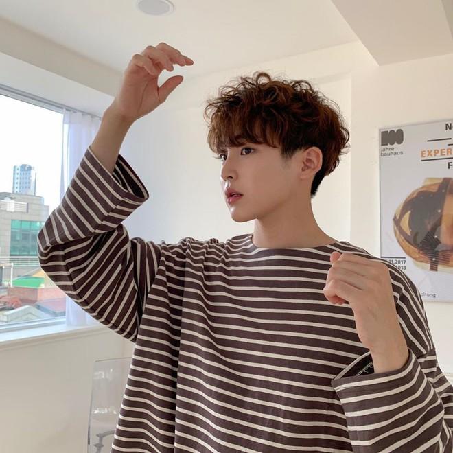 Trời sang thu là trai Hàn rủ nhau uốn tóc xoăn, max đẹp trai khiến chị em lịm người - ảnh 14