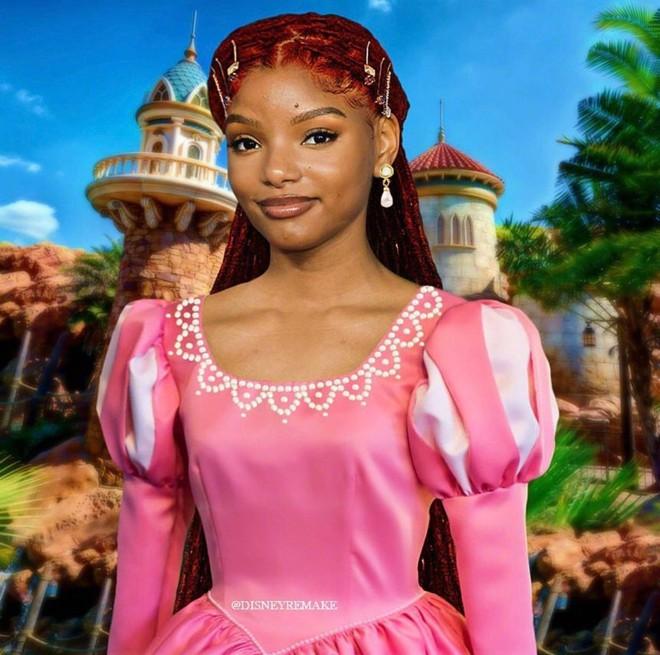 Vì sao Disney thản nhiên ngồi không khi cả thế giới chê bai Nàng Tiên Cá da màu Halle Bailey? - Ảnh 2.