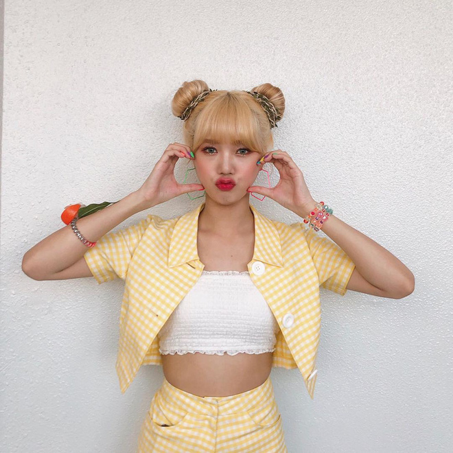Crop top một gang tay có gì hot khiến Black Pink, Red Velvet, Mamamoo, Itzy diện rần rần? - ảnh 10