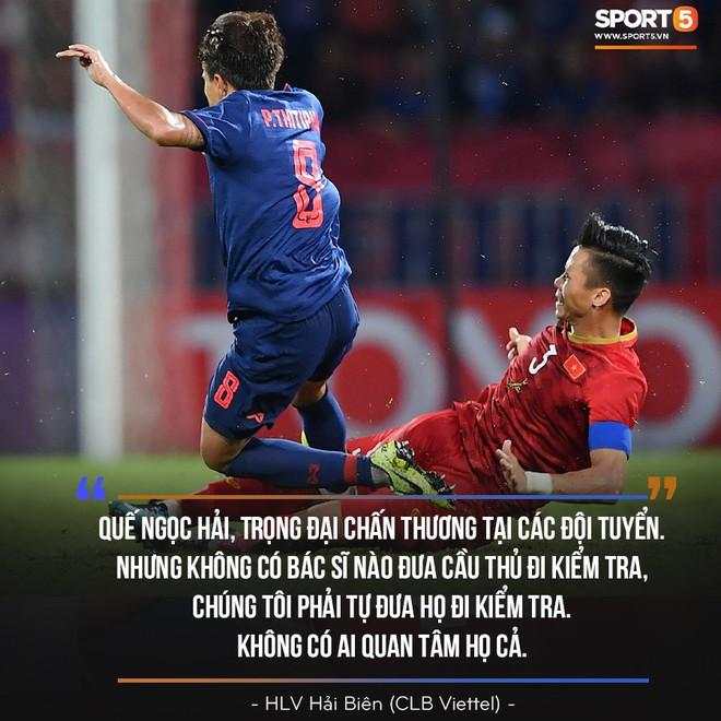 HLV Viettel FC: Quế Ngọc Hải, Trọng Đại chấn thương vì đội tuyển nhưng không ai quan tâm họ cả - Ảnh 2.