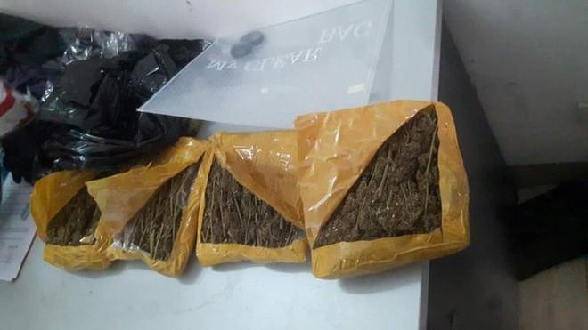 Bắt 2 sinh viên mua bán gần 1,5kg cần sa ở Đà Nẵng - ảnh 2