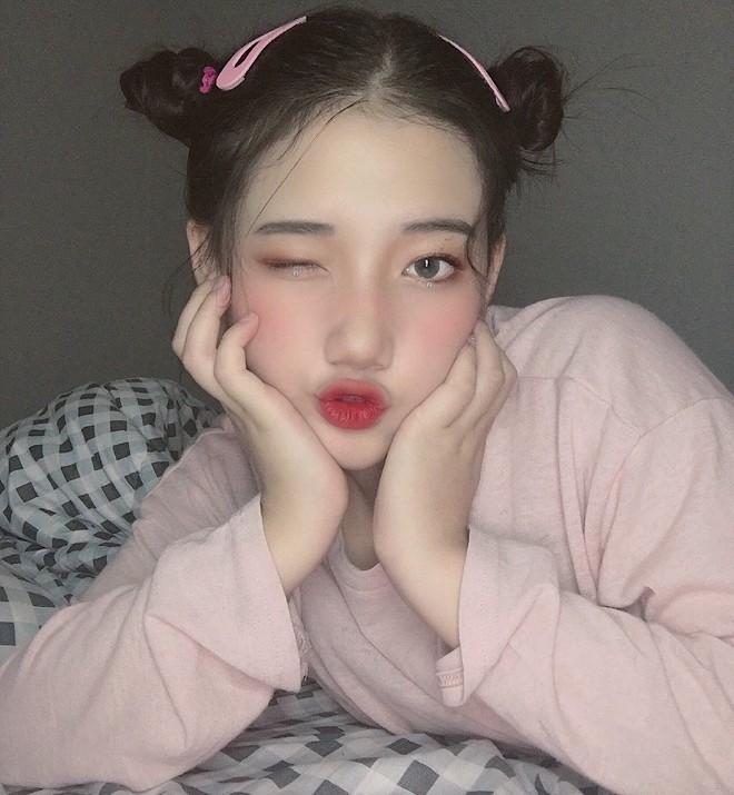 Hotgirl áo dài Đà Nẵng gây sốt bởi  góc nghiêng cực giống Suzy, sở hữu hơn 60k follow Instagram và hàng chục clip triệu view - ảnh 5