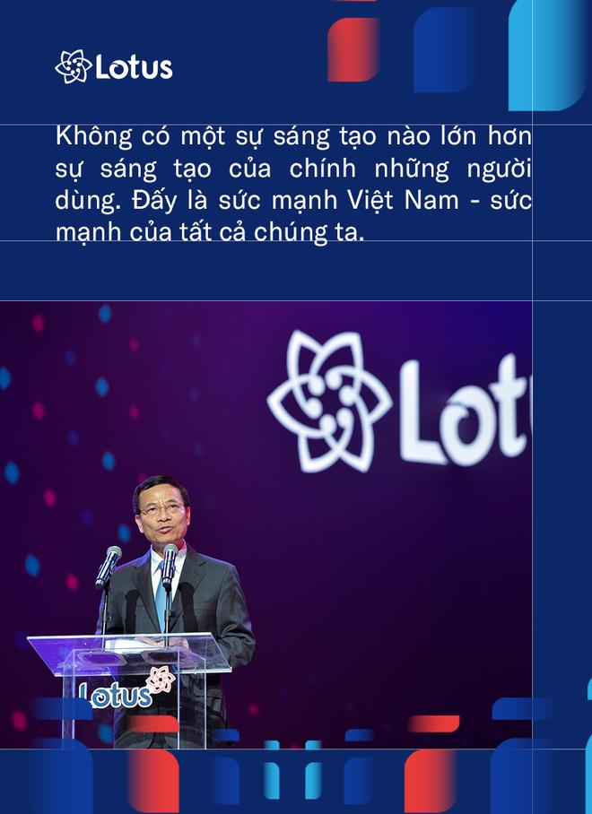 Bộ trưởng Bộ Thông tin và Truyền thông VN: Phát triển Lotus không phải thách thức mà là cơ hội. Vì việc dễ thì không tạo ra người tài - ảnh 2
