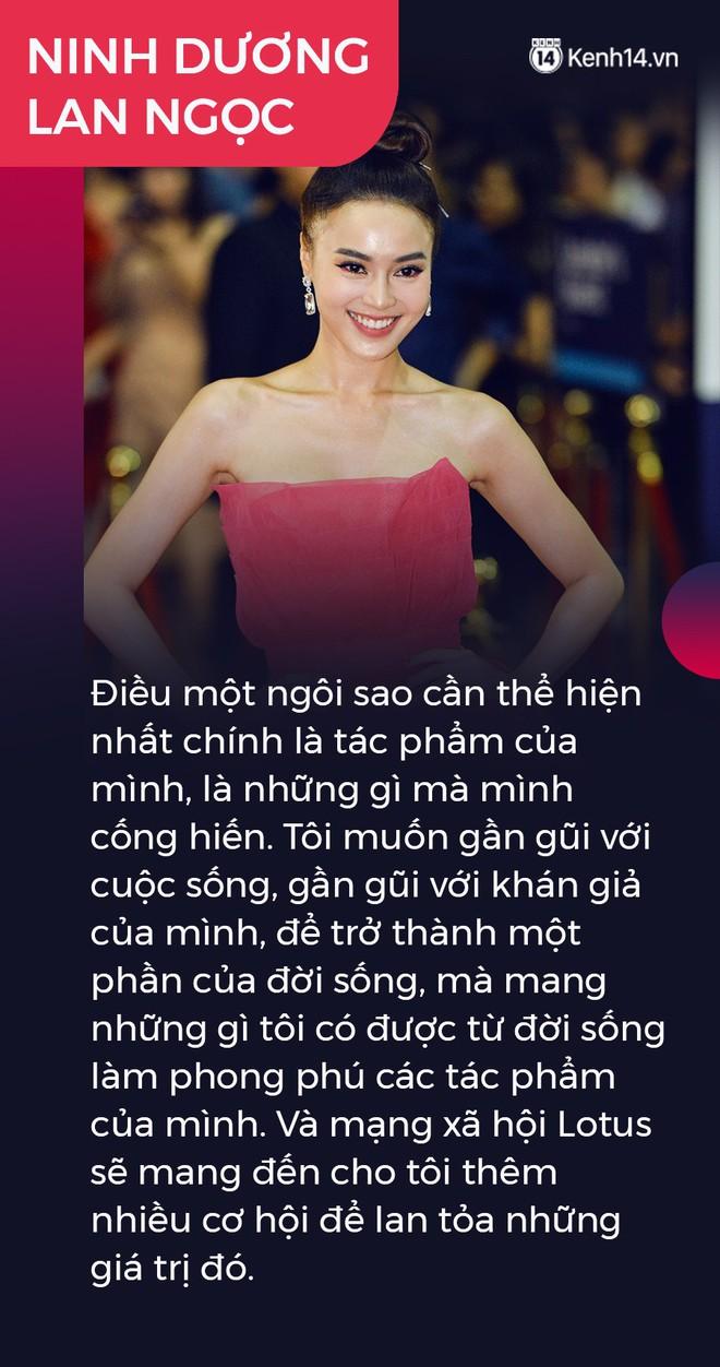 Ninh Dương Lan Ngọc, Quang Hải và nhà báo Mai Anh gây xúc động: Lotus sẽ mang đến cơ hội lan tỏa niềm tự hào giá trị Việt Nam - ảnh 4