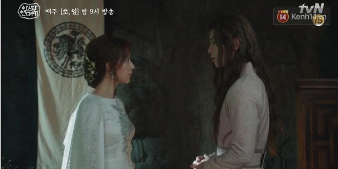 Song Joong Ki ôn nhu ôm ấp Kim Ji Won, chèo kéo crush về đội của mình để chống đối cha ngay tập 16 Arthdal Niên Sử Kí - Ảnh 5.