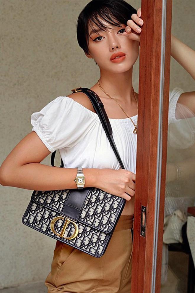 Chiếc túi Dior tai tiếng trong drama túi fake của Sĩ Thanh hoá ra cực được lòng hội sao Việt chuộng hàng hiệu - ảnh 5