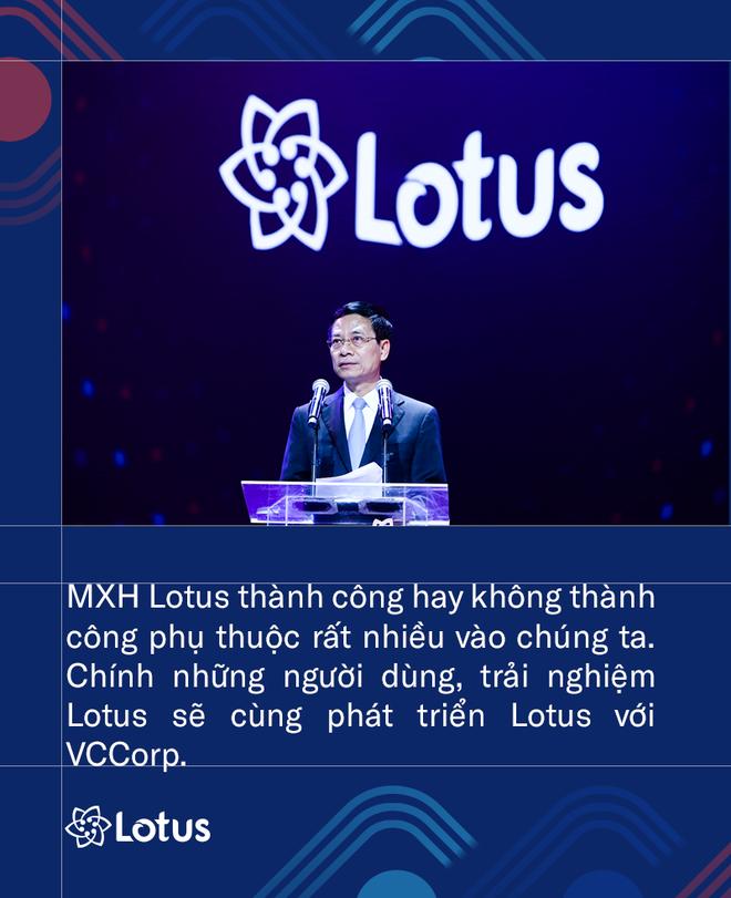 Bộ trưởng Bộ Thông tin và Truyền thông VN: Phát triển Lotus không phải thách thức mà là cơ hội. Vì việc dễ thì không tạo ra người tài - ảnh 1