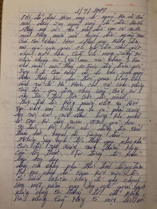 Vụ anh trai truy sát cả gia đình em gái: Công an chính thức lên tiếng về lá thư được cho là của nghi phạm lan truyền trên mạng - ảnh 4