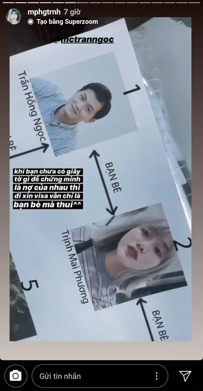Ngớ người khi vợ MC Trần Ngọc tiết lộ sống chung 3 năm vẫn chưa đăng kí kết hôn, xin visa đi du lịch với danh nghĩa bạn bè - ảnh 2