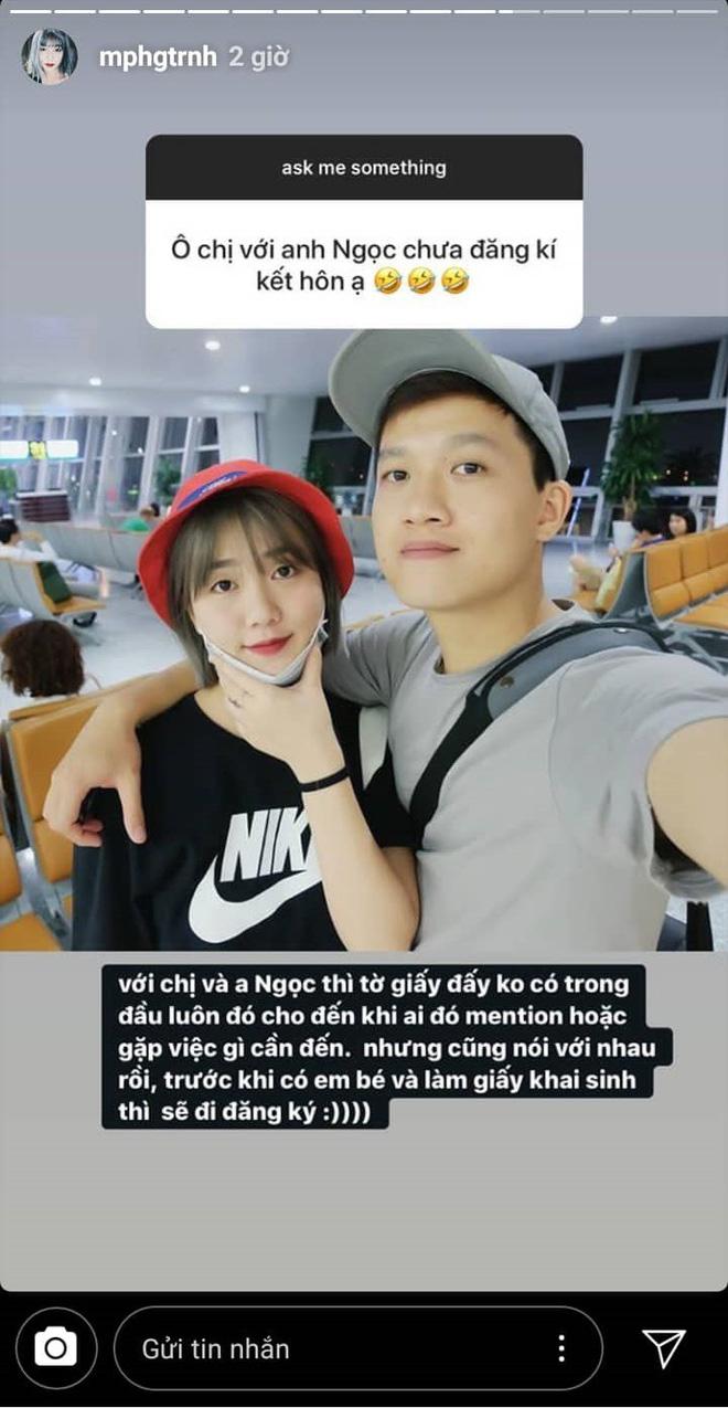 Ngớ người khi vợ MC Trần Ngọc tiết lộ sống chung 3 năm vẫn chưa đăng kí kết hôn, xin visa đi du lịch với danh nghĩa bạn bè - ảnh 3