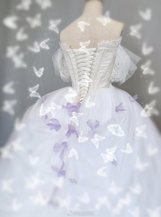 Rò rỉ ảnh váy cưới trong Full House bản Trung Quốc: được khen ăn đứt váy của Song Hye Kyo khi xưa - ảnh 6