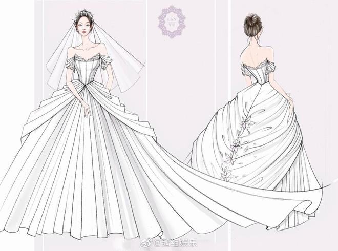 Rò rỉ ảnh váy cưới trong Full House bản Trung Quốc: được khen ăn đứt váy của Song Hye Kyo khi xưa - ảnh 7