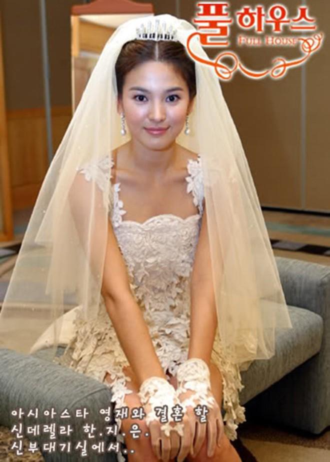 Rò rỉ ảnh váy cưới trong Full House bản Trung Quốc: được khen ăn đứt váy của Song Hye Kyo khi xưa - ảnh 10