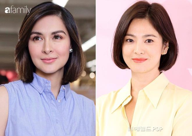 Vừa cắt tóc, mẹ 3 con đẹp nhất Philippines khiến dân tình ngỡ ngàng vì quá giống Song Hye Kyo - ảnh 5