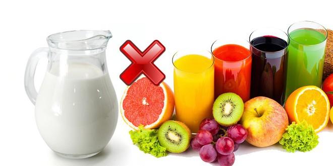Những loại thực phẩm không thể ăn chung với nhau vì dễ gây ngộ độc, tiêu chảy - ảnh 1