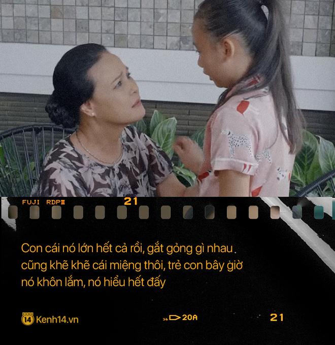 Học thuộc lòng 9 câu thoại để đời của mẹ chồng quốc dân Hoa Hồng Trên Ngực Trái: Mẹ cấm con xúc phạm vợ mình! - ảnh 2