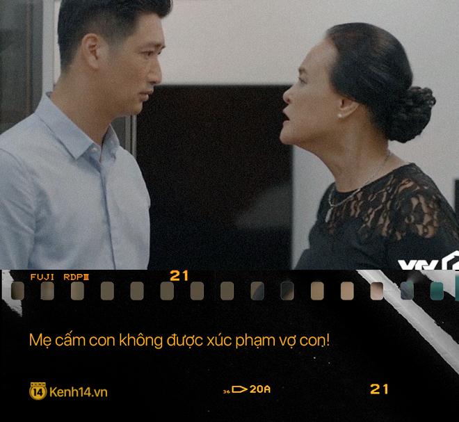 Học thuộc lòng 9 câu thoại để đời của mẹ chồng quốc dân Hoa Hồng Trên Ngực Trái: Mẹ cấm con xúc phạm vợ mình! - ảnh 4