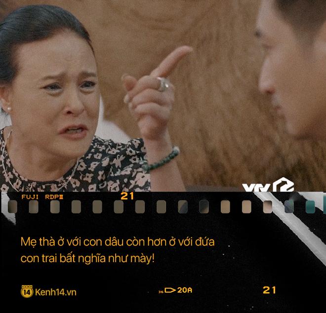 Học thuộc lòng 9 câu thoại để đời của mẹ chồng quốc dân Hoa Hồng Trên Ngực Trái: Mẹ cấm con xúc phạm vợ mình! - ảnh 9