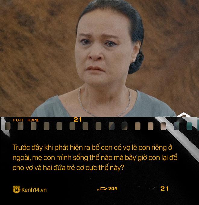 Học thuộc lòng 9 câu thoại để đời của mẹ chồng quốc dân Hoa Hồng Trên Ngực Trái: Mẹ cấm con xúc phạm vợ mình! - ảnh 10