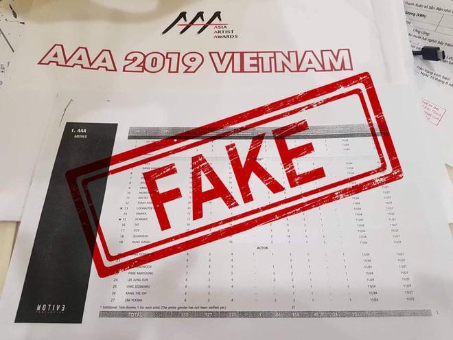Đối chiếu dàn line-up real với danh sách mà BTC AAA 2019 từng thẳng thừng phủ nhận là fake: Giống nhau đến 99%! - ảnh 1