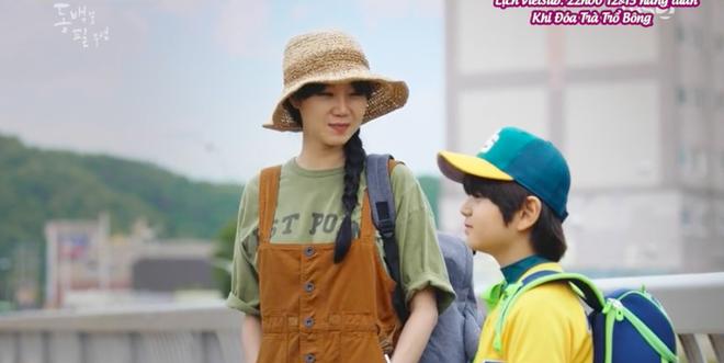 Cú lừa thế kỉ của Gong Hyo Jin (Khi Cây Trà Trổ Hoa): Dập người yêu cũ và crush bằng đứa con 6 tuổi - Ảnh 2.