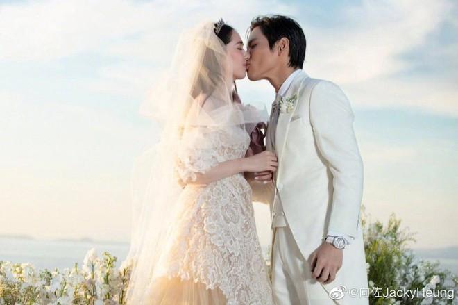 Đám cưới như trò hề của Cbiz: Liên tục phủ nhận, tình cũ Seungri và cháu trùm mafia Hong Kong hôm nay tung ảnh hôn lễ - ảnh 2