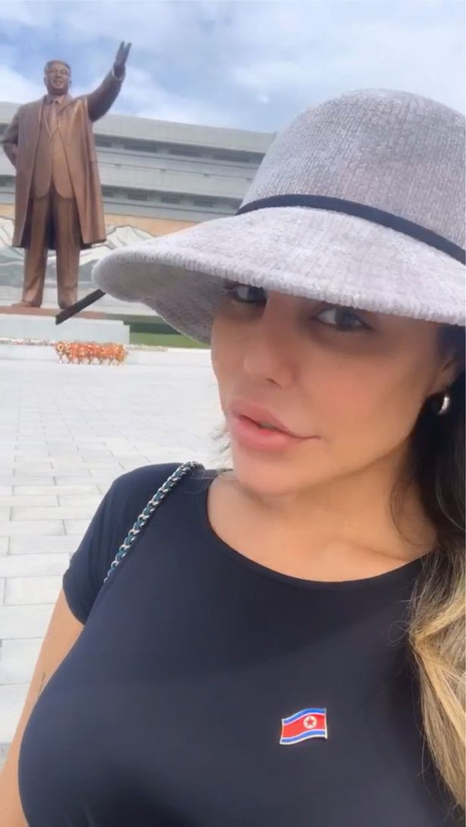 Người đẹp Brazil suýt bị bắt giữ vì bất chấp luật lệ, chụp ảnh khoe thân gợi cảm khi đi du lịch ở Triều Tiên - ảnh 5