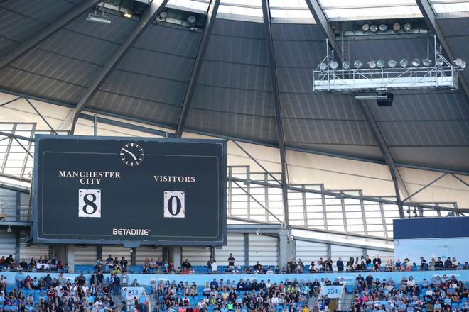Man City thiết lập hàng loạt thành tích chưa từng có trong lịch sử Ngoại hạng Anh sau màn hạ sát 8 bàn không gỡ - Ảnh 8.