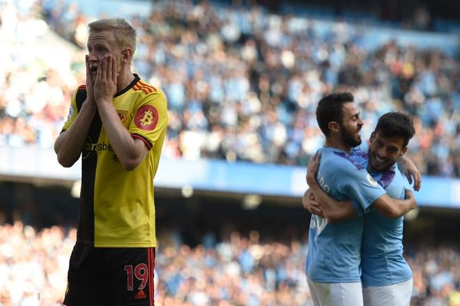 Man City thiết lập hàng loạt thành tích chưa từng có trong lịch sử Ngoại hạng Anh sau màn hạ sát 8 bàn không gỡ - Ảnh 3.