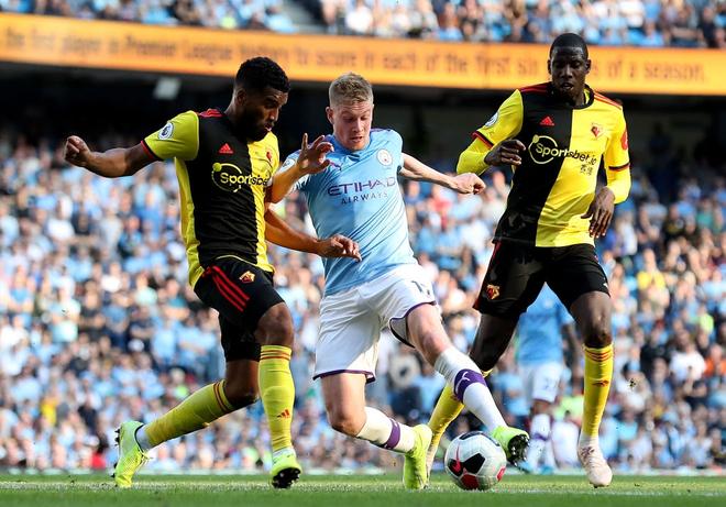 Man City thiết lập hàng loạt thành tích chưa từng có trong lịch sử Ngoại hạng Anh sau màn hạ sát 8 bàn không gỡ - ảnh 1