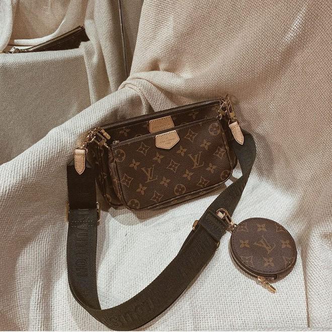 Mua 1 được hẳn 3 lại mix thế nào cũng đẹp, đây đang là chiếc túi hàng hiệu được các fashionista khắp muôn nơi mê tít - ảnh 2