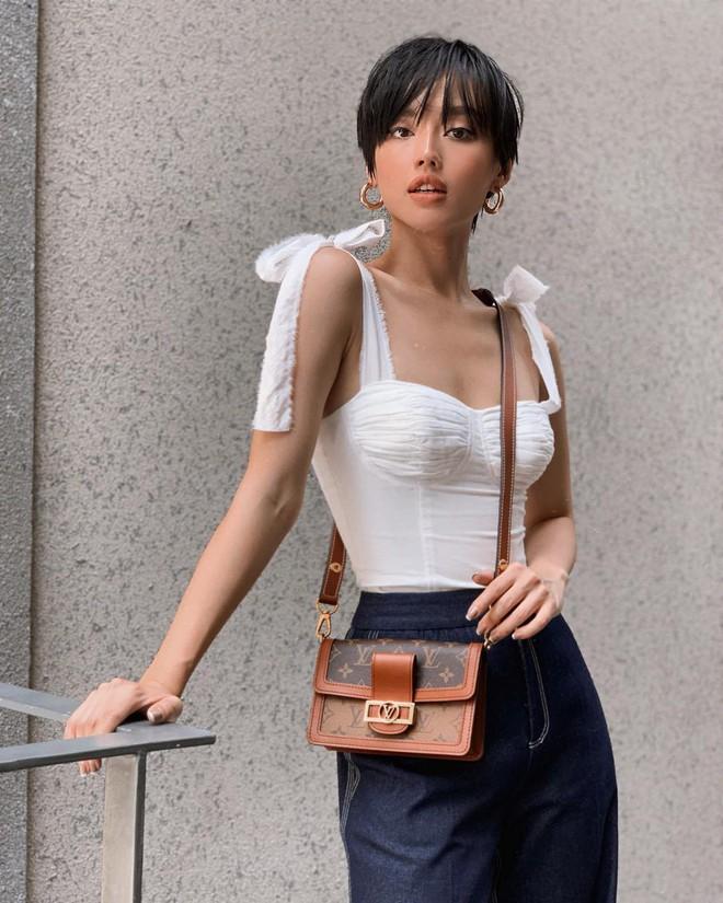 Túi hiệu đâu ra mà lắm thế: Hẳn nên gọi Khánh Linh là cô em nhiều túi' chứ không chỉ là cô em trendy - ảnh 15