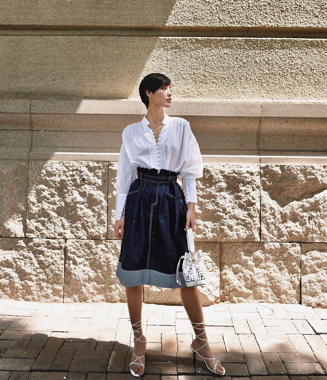 Túi hiệu đâu ra mà lắm thế: Hẳn nên gọi Khánh Linh là cô em nhiều túi' chứ không chỉ là cô em trendy - ảnh 20