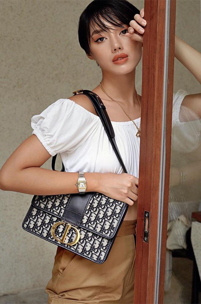 Túi hiệu đâu ra mà lắm thế: Hẳn nên gọi Khánh Linh là cô em nhiều túi' chứ không chỉ là cô em trendy - ảnh 16