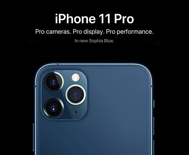 Đã đời với iPhone 11 biển xanh sâu thẳm: Làm màu tí thôi mà đẹp không dám chớp mắt! - Ảnh 2.