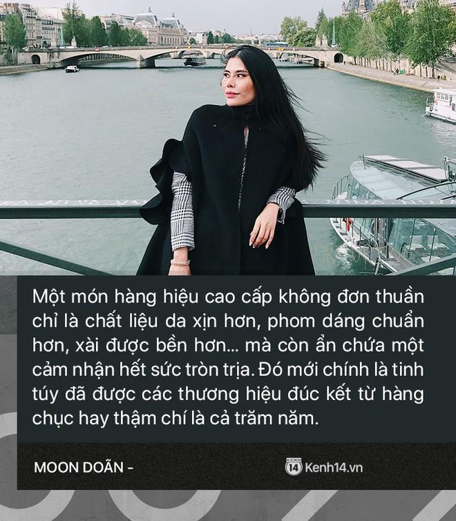 Moon Doãn - Nữ nhân chuyên bóc phốt hàng hiệu tâm sự: Mình bị dọa nhiều lắm, có cô còn mò đến nhà vào lúc 1 giờ sáng - ảnh 3