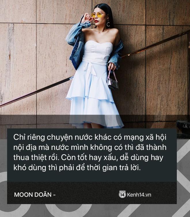 Moon Doãn - Nữ nhân chuyên bóc phốt hàng hiệu tâm sự: Mình bị dọa nhiều lắm, có cô còn mò đến nhà vào lúc 1 giờ sáng - ảnh 7