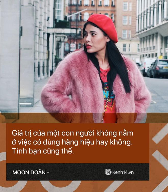 Moon Doãn - Nữ nhân chuyên bóc phốt hàng hiệu tâm sự: Mình bị dọa nhiều lắm, có cô còn mò đến nhà vào lúc 1 giờ sáng - ảnh 5