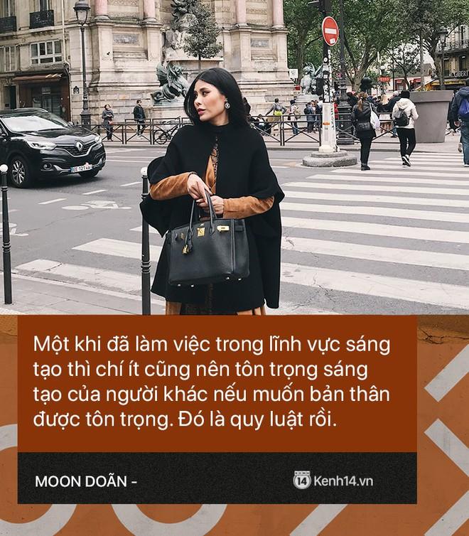 Moon Doãn - Nữ nhân chuyên bóc phốt hàng hiệu tâm sự: Mình bị dọa nhiều lắm, có cô còn mò đến nhà vào lúc 1 giờ sáng - ảnh 6