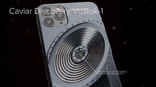 Chế tác từ mảnh vỡ tàu Titanic và tàu vũ trụ Vostok-1, đây chắc chắn là bản iPhone 11 độc nhất thế giới - Ảnh 3.