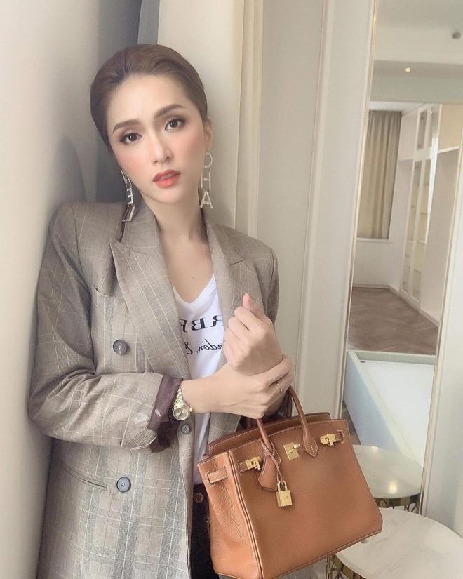 Từ ngày sắm 3 chiếc túi Hermès, Hương Giang cũng chuyển sang style thanh lịch chanh sả đậm chất ái nữ tài phiệt - ảnh 8