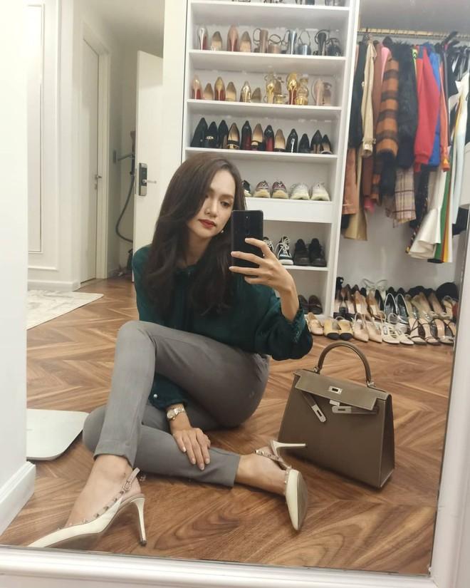Từ ngày sắm 3 chiếc túi Hermès, Hương Giang cũng chuyển sang style thanh lịch chanh sả đậm chất ái nữ tài phiệt - ảnh 9