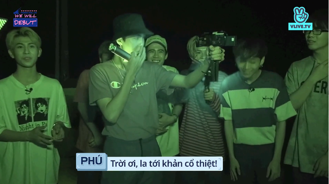 7 trai đẹp của boygroup người Việt D1Verse la hét khản cổ khi bị dọa ma - ảnh 7