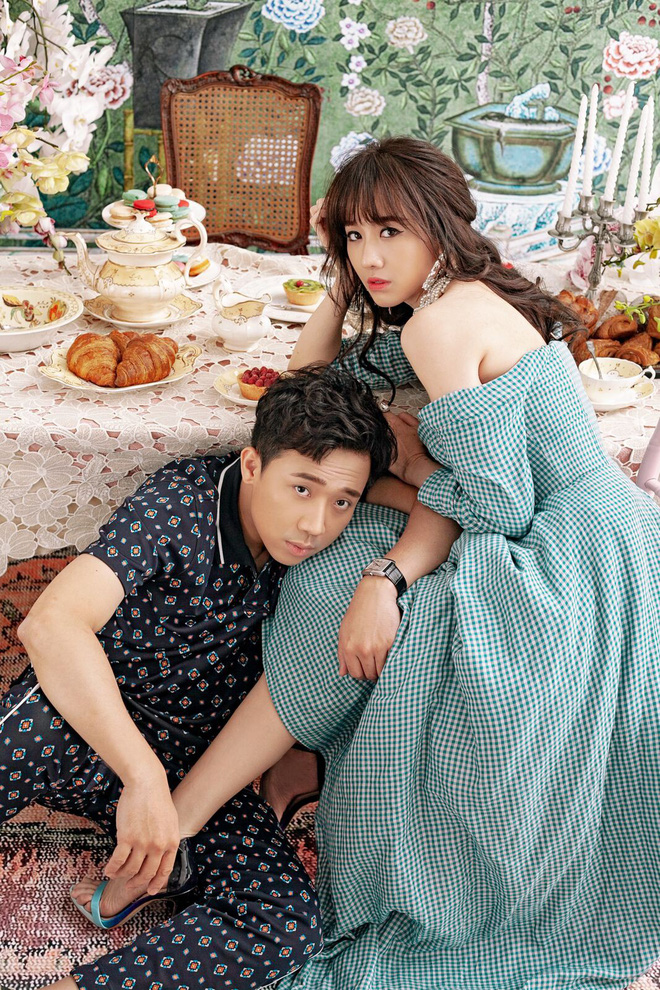 Trấn Thành và Hari Won tung bộ ảnh tình tứ như thuở mới yêu, ngày càng hạnh phúc sau gần 3 năm kết hôn - ảnh 13
