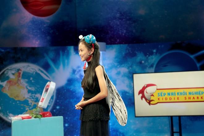 Shark nhí: Minh Hằng phấn khích với ông chủ nhỏ tuổi nhất Việt Nam - ảnh 4