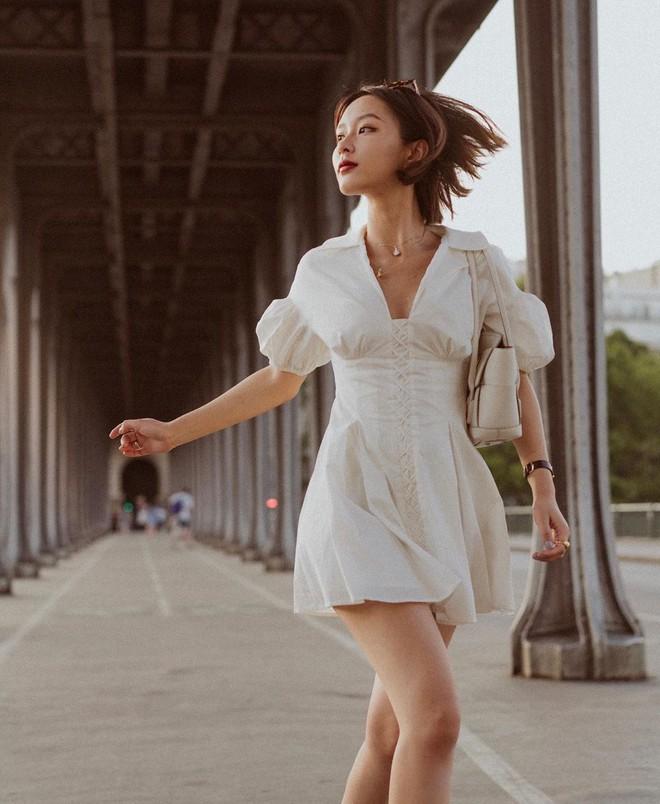 Ngắm Sam yêu kiều và sang chảnh khi diện váy trắng, thế nào các nàng cũng muốn sắm ngay vài chiếc - ảnh 12