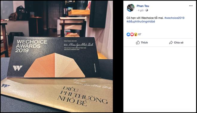Đến lượt Ban Sứ Giả rủ nhau khoe vé, Gala WeChoice Awards 2019 đang nóng lắm rồi! - Ảnh 10.