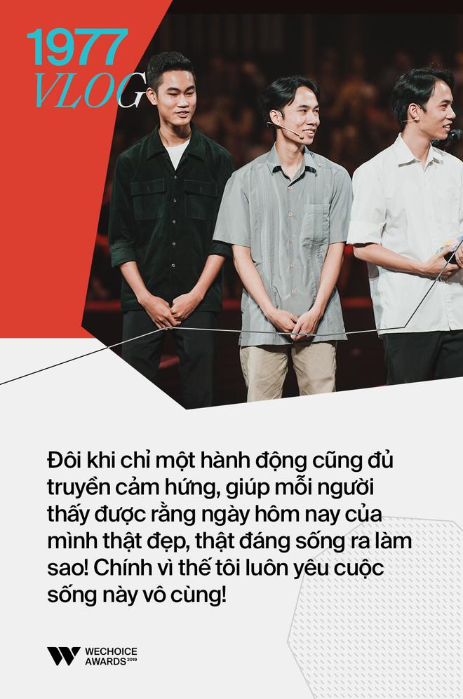 Những phát ngôn gây ấn tượng nhất trên sân khấu WeChoice Awards 2019: Xúc động, ý nghĩa và lắng đọng - Ảnh 13.