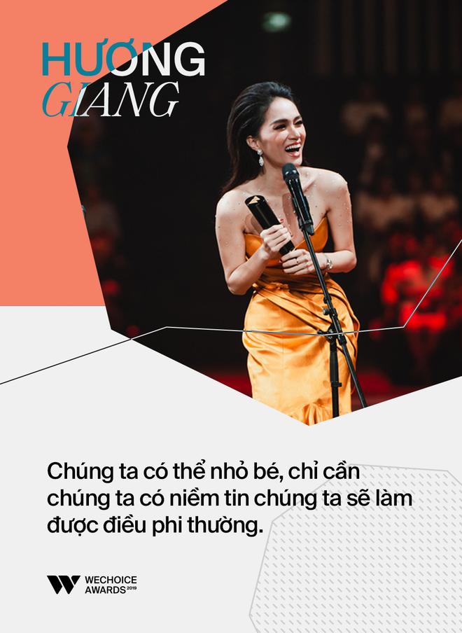 Những phát ngôn gây ấn tượng nhất trên sân khấu WeChoice Awards 2019: Xúc động, ý nghĩa và lắng đọng - Ảnh 19.